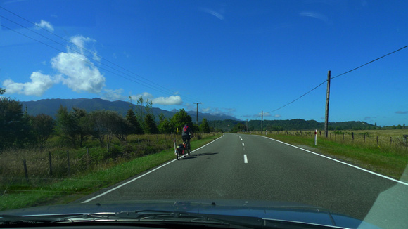 Westport to Nelson by car